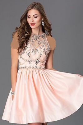 Pembe Renkli Söz Elbise Modelleri
