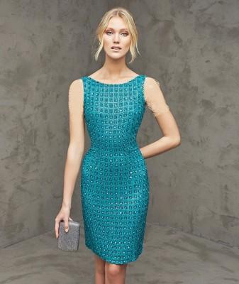 Taş Süslemeli Söz İçin Elbise Modelleri
