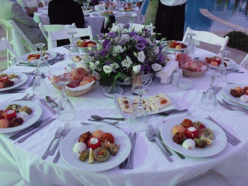En Güzel Yemekli Düğün Menüleri