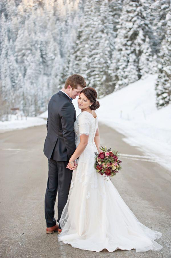 En Yeni Kış Düğünü Fikirleri