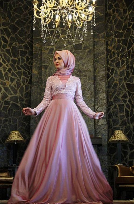 En Güzel Tesettür Söz Elbise Modelleri 2017