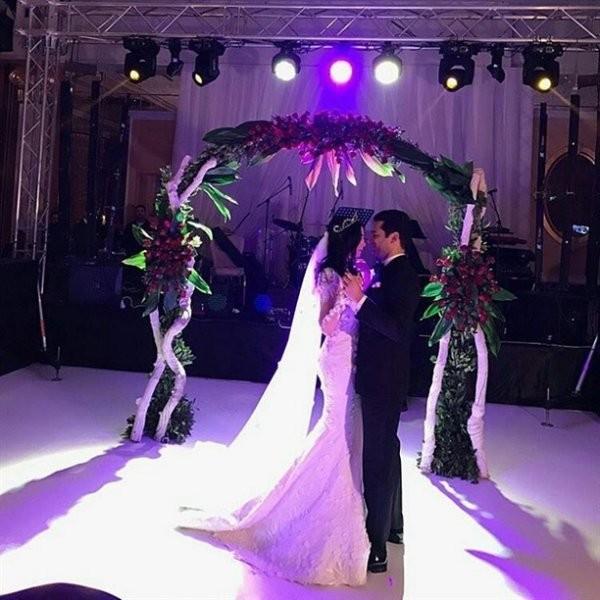 Murat Yıldırım İmane Elbani Muhteşem Bir Düğünle Hayatlarını Birleştirdi