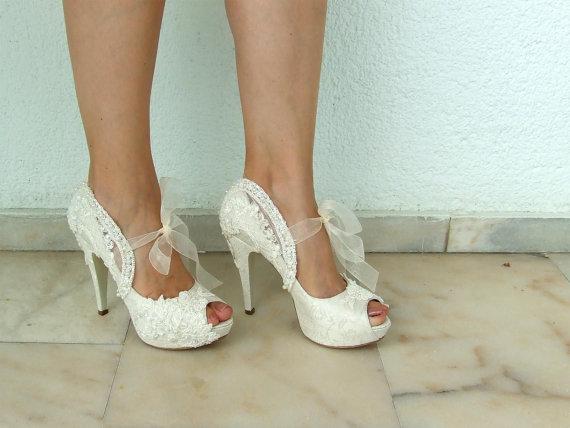2017 En Güzel Gelin Ayakkabı Modelleri