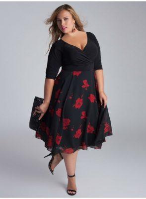 En Yeni Kilolu Söz Elbise Modelleri 2018